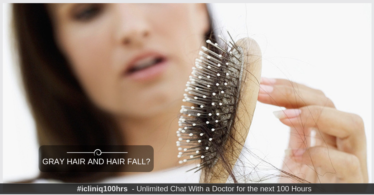 I am in need of ayurveda treatment for gray hair and hair fall.