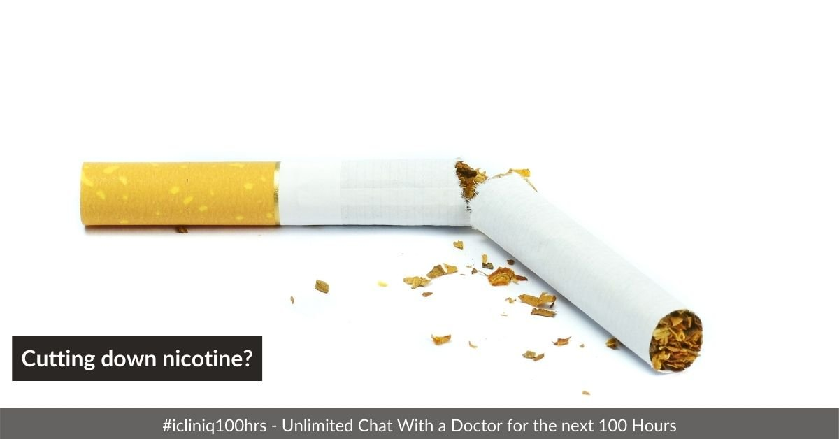 Is blood viscosity reversible by simply cutting down nicotine?