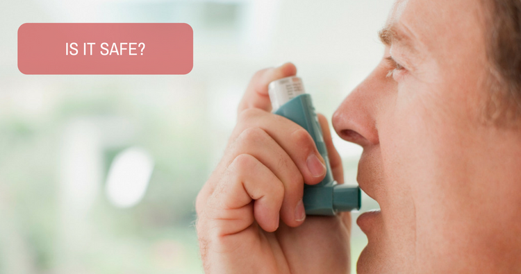 Is it safe to use tablet Montair-LC daily for asthma?
