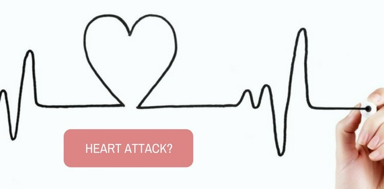 Is the sharp pain that I experienced on my left armpit, a sign of heart attack?