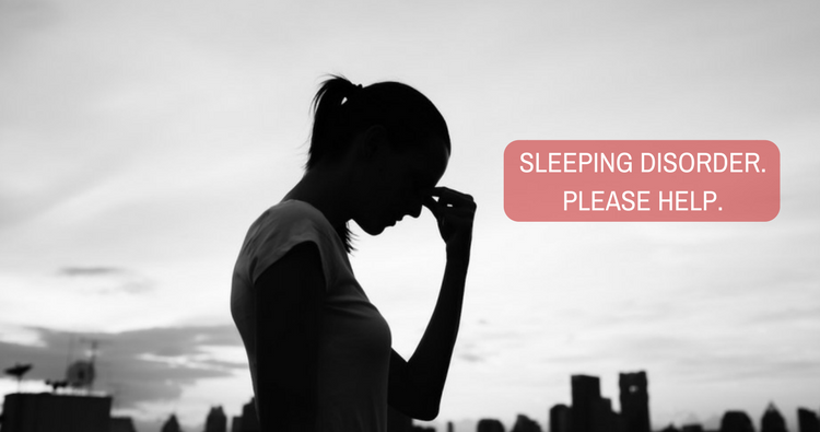 My problem is over-thinking a situation and also sleeping disorder.Please help.