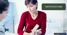 Is it fine to use Mifepristone for abortion after C-section?
