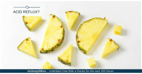 Can I have pineapple to cure acid reflux?