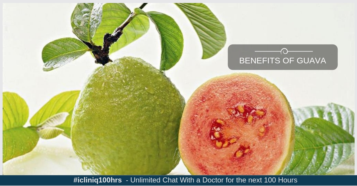 What are the benefits of consuming guava?