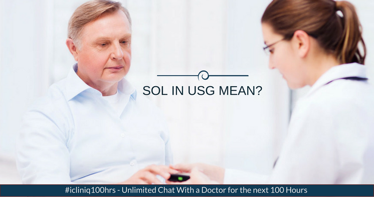 What does SOL in USG mean?