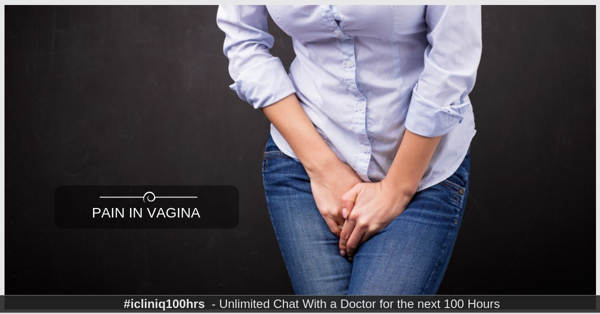 What is causing sharp pain in vagina after urinating?
