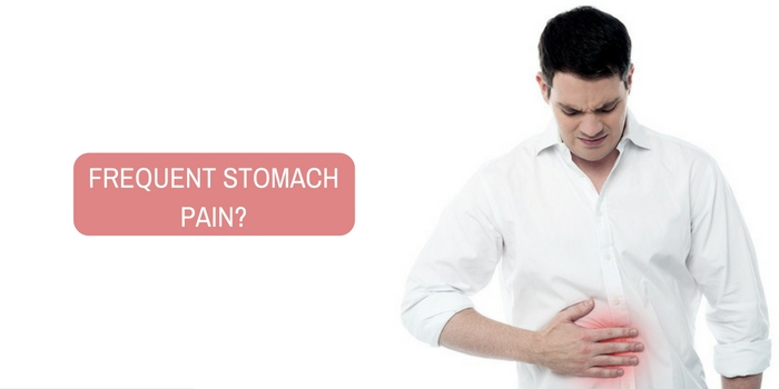 What is the reason for frequent stomach pain?