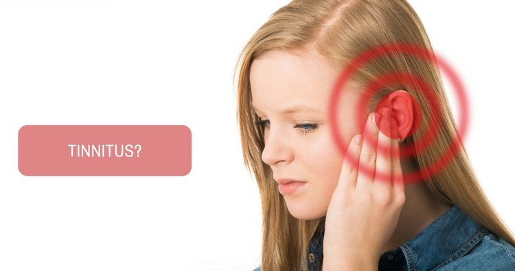 What is the safe way to ease tinnitus?