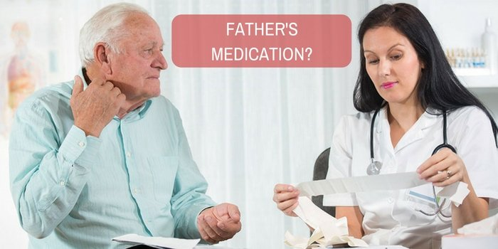 What is your opinion about my father's medication?