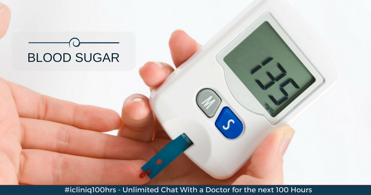 Why is my fasting blood sugar level higher than postprandial?