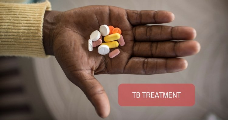 Would TB treatment interfere with HIV test?